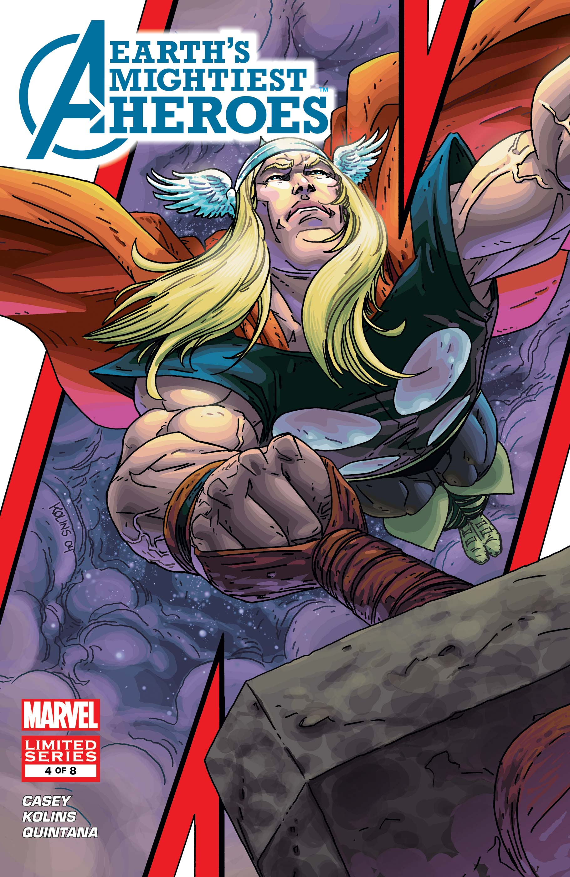 Avengers: Earth's Mightiest Heroes (2004) #4