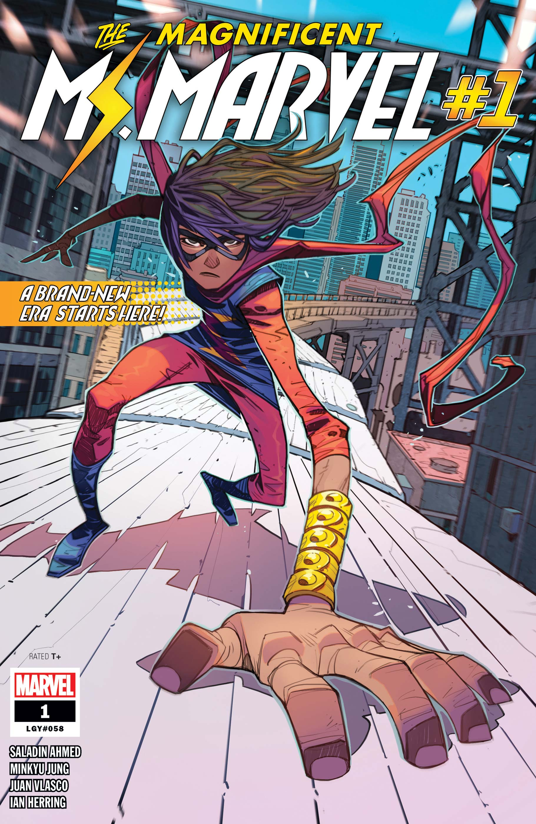 Magnificent Ms. Marvel (2019) #1