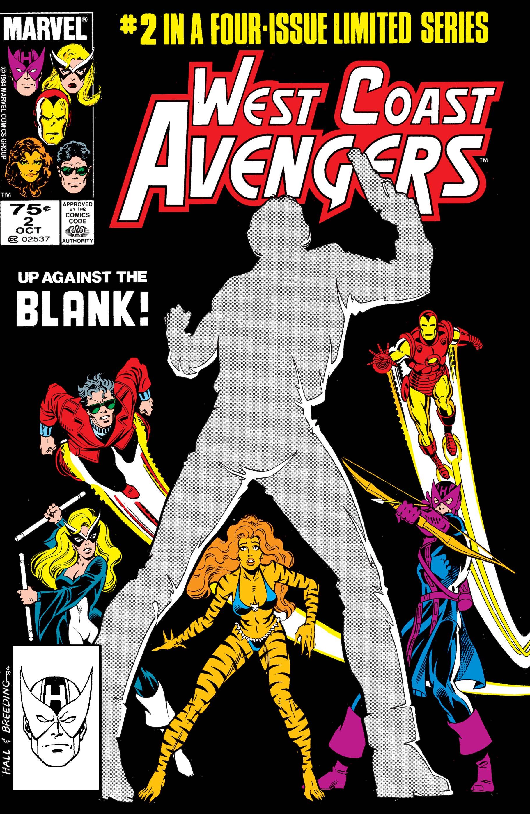 West Coast Avengers (1984) #2
