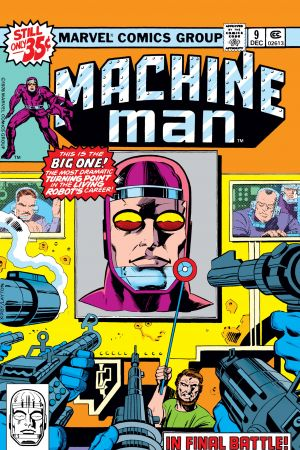 Machine Man (1978) #9