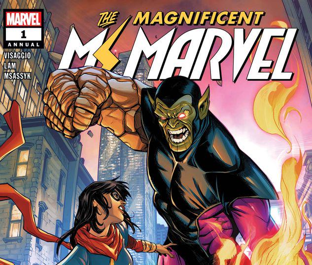 MS. MARVEL ANNUAL 1 #1