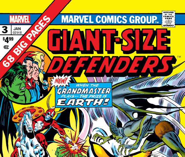 GIANT-SIZE DEFENDERS 3 FACSIMILE EDITION #1