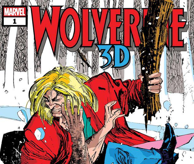 WOLVERINE VS. SABRETOOTH 3D 1 #1