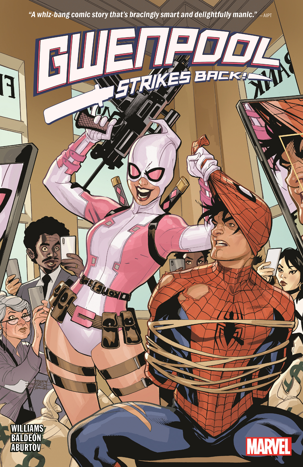 Gwenpool Strikes Back (Trade Paperback)