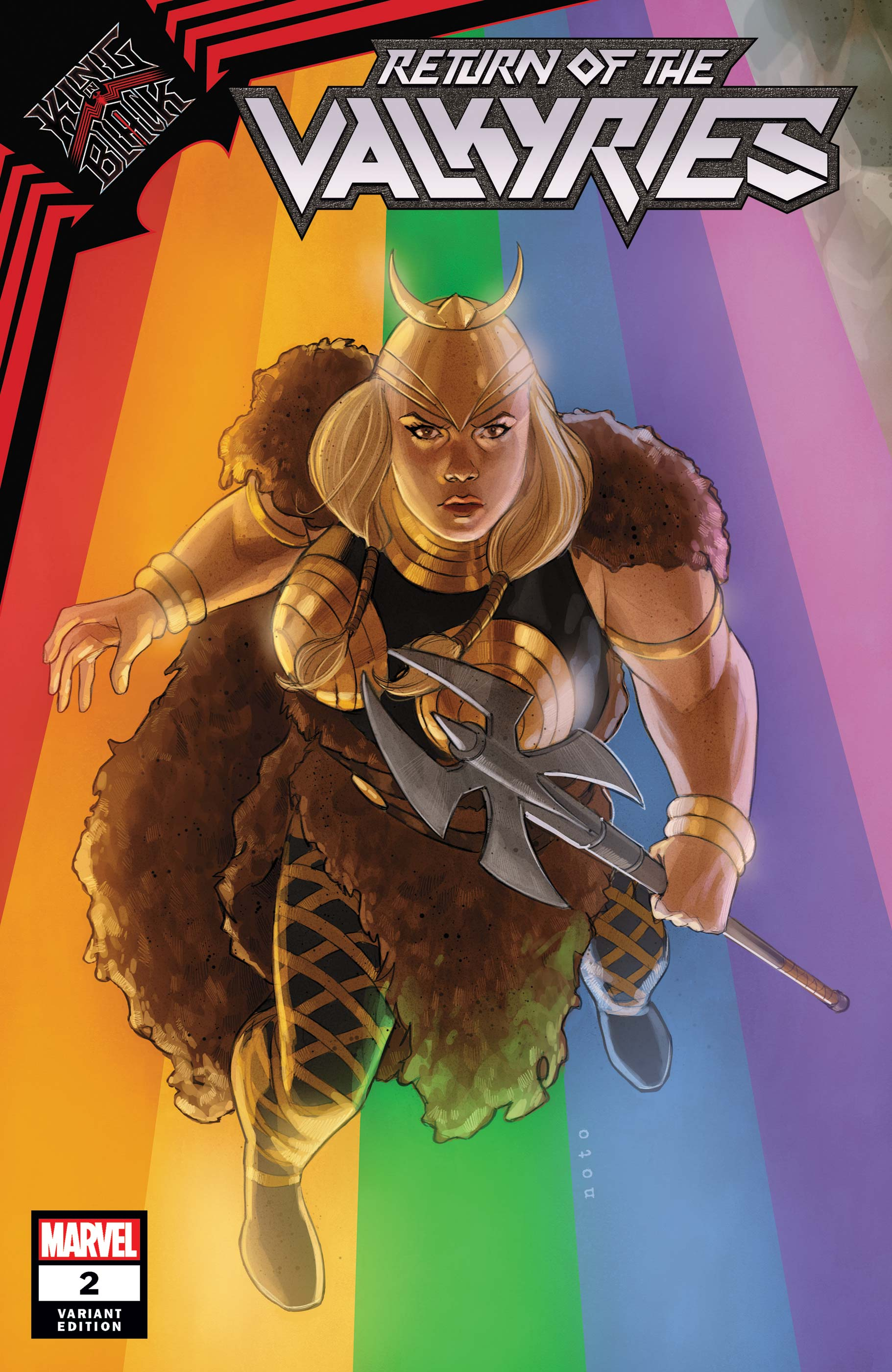 King in Black: Return of the Valkyries (2021) #2 (Variant)