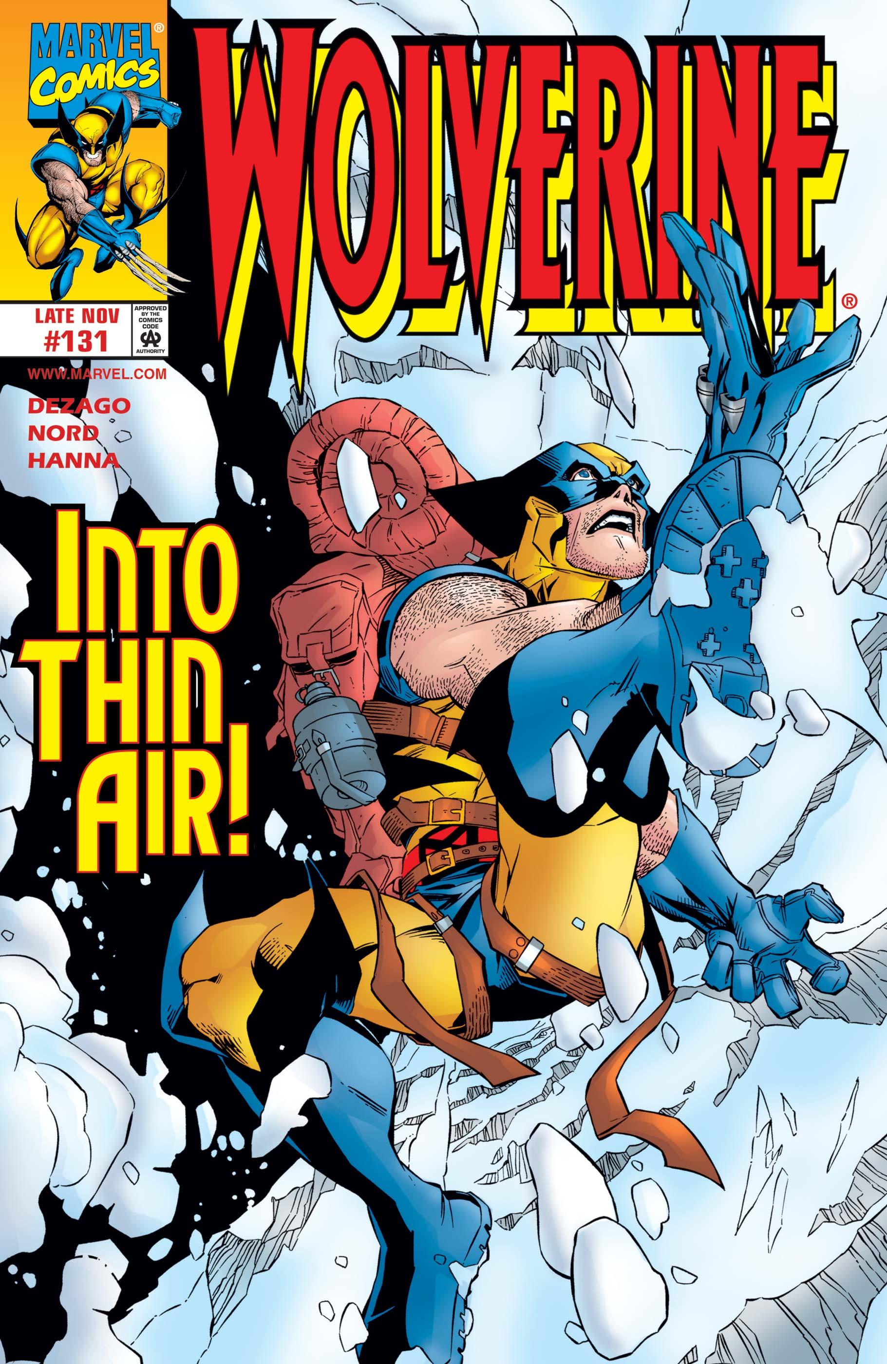 Wolverine (1988) #131