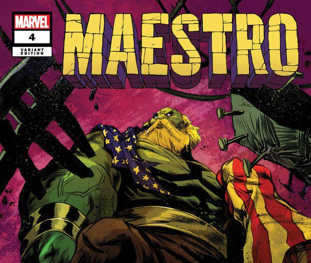Maestro: War and Pax #4