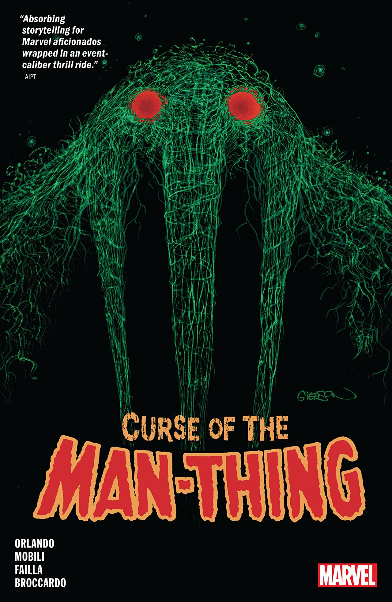 Curse Of The Man-Thing (Trade Paperback)