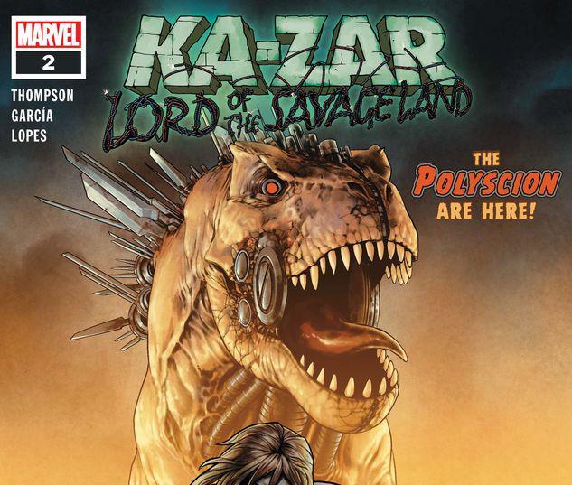 Ka-Zar Lord of the Savage Land #2