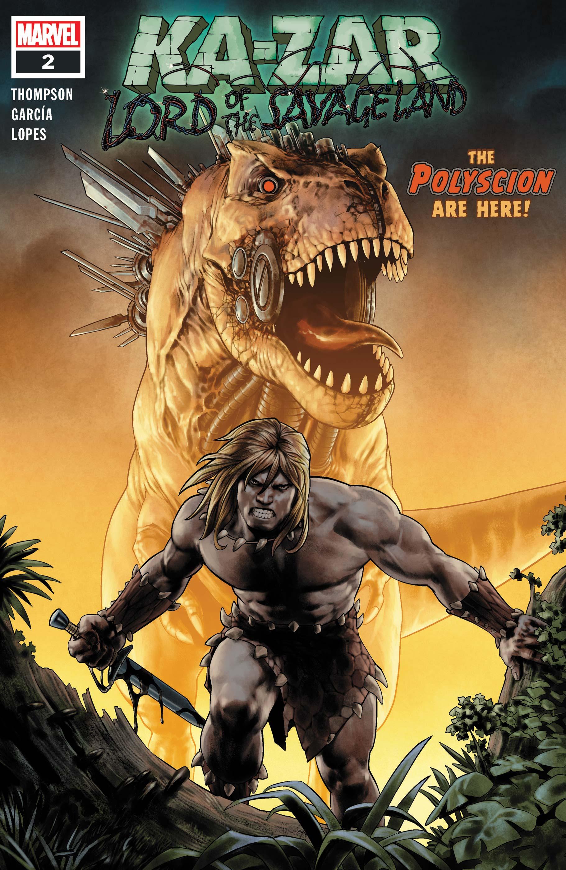 Ka-Zar Lord of the Savage Land (2021) #2