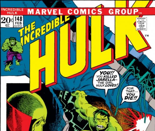 INCREDIBLE HULK #148 COVER
