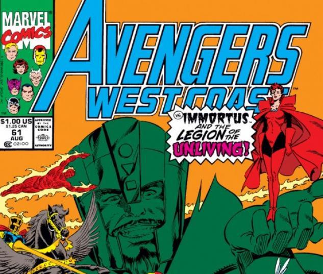 Avengers West Coast #61