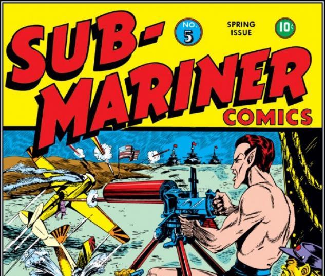 Sub-Mariner Comics #5