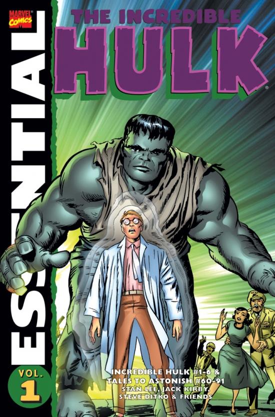 Essential Incredible Hulk Vol. 1 (New (Trade Paperback)
