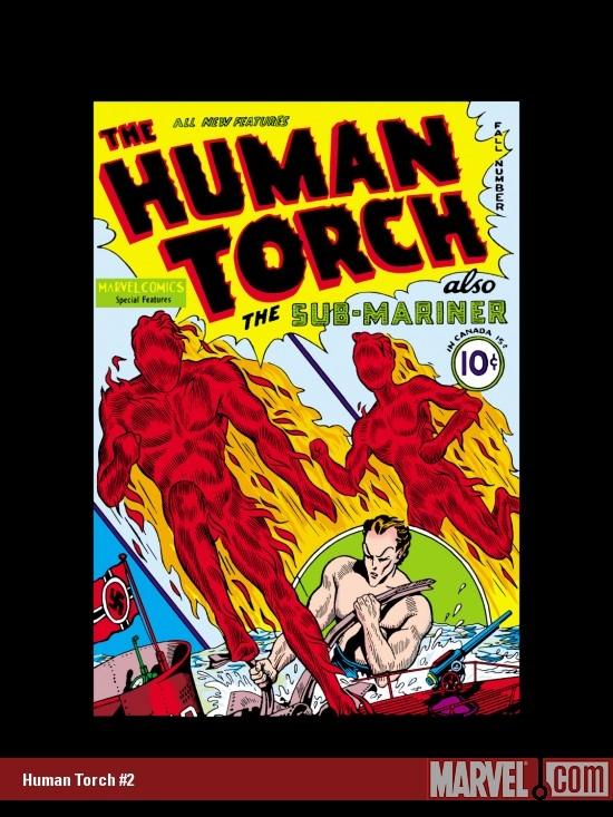 Human Torch (1940) #2