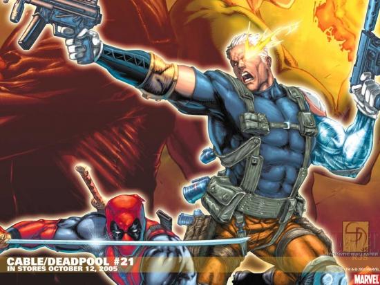 Cable & Deadpool (2004) #21 Wallpaper