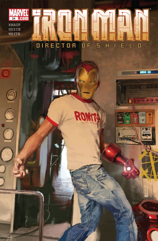 Iron Man: Director of S.H.I.E.L.D. (2007) #24