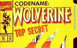 Wolverine (1988) #50 cover by Marc Silvestri