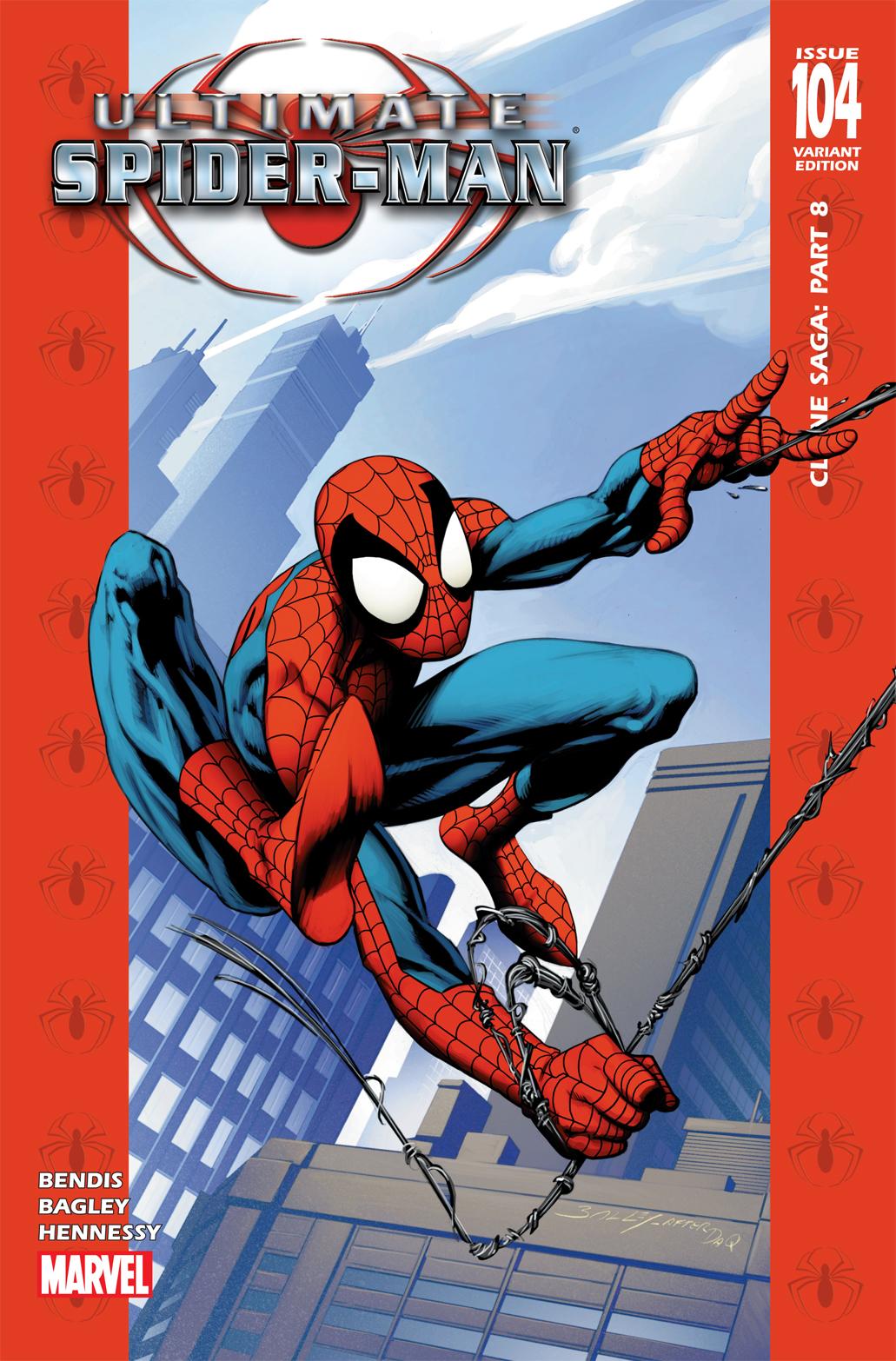 Ultimate Spider-Man (2000) #104 (50/50 Variant)