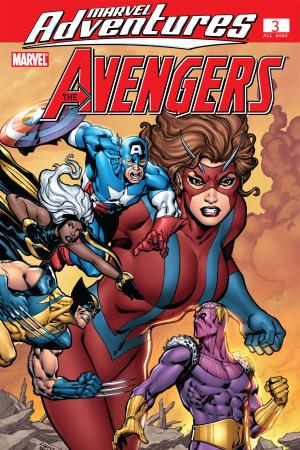 Marvel Adventures the Avengers (2006) #3
