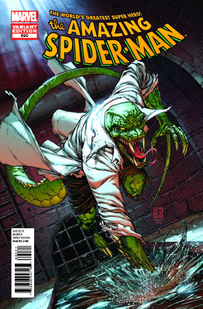 Amazing Spider-Man (1999) #690 (Lizard Variant)