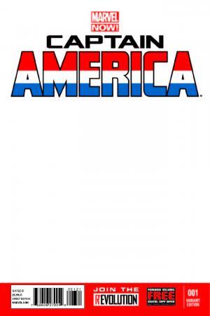 Captain America (2012) #1 (Blank Cover Variant)