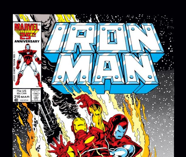 Iron Man (1968) #216 Cover