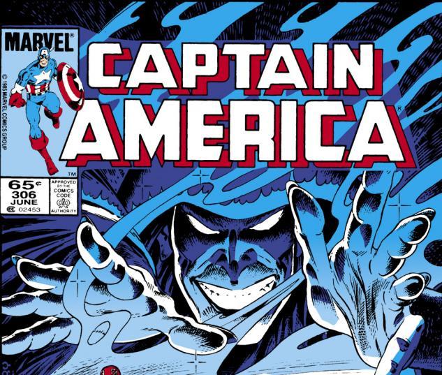 Captain America (1968) #306 Cover