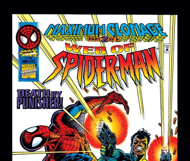 Web of Spider-Man (1985) #127 Cover