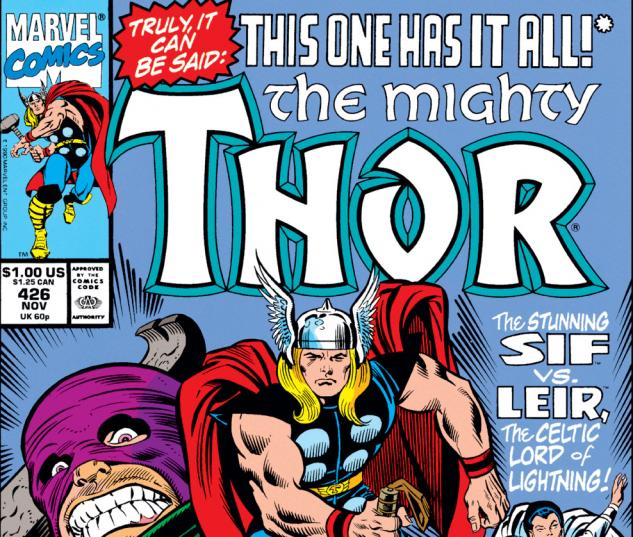 Thor (1966) #426 Cover