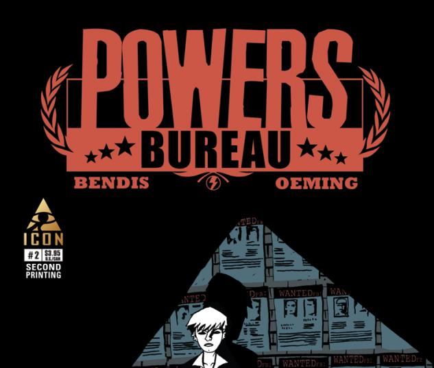 POWERS: BUREAU 2 2ND PRINTING VARIANT