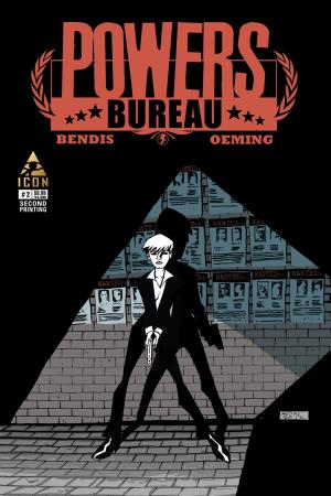 Powers: Bureau (2013) #2 (2nd Printing Variant)