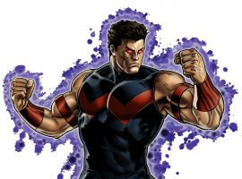 Wonder Man character model from Marvel: Avengers Alliance
