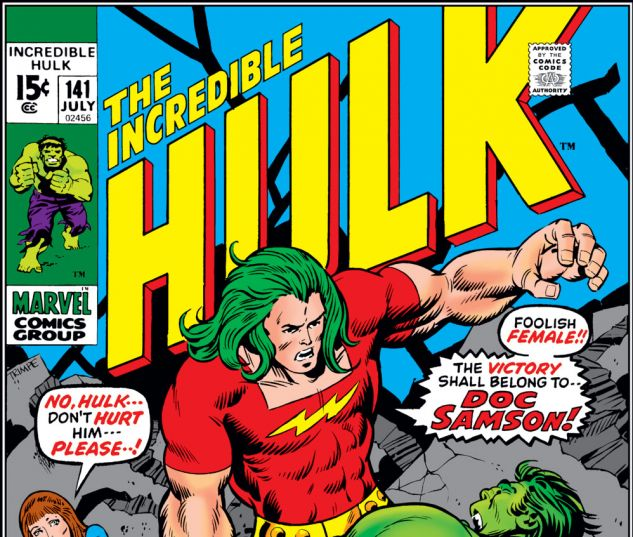 Incredible Hulk (1962) #141 Cover