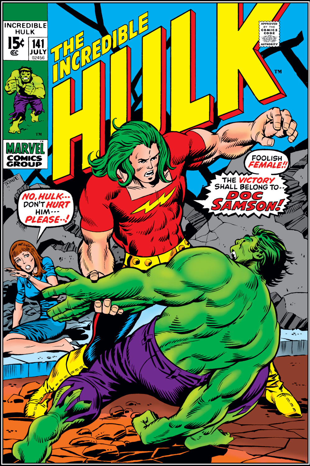 Incredible Hulk (1962) #141