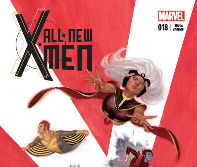 ALL-NEW X-MEN 18 TEDESCO 70S VARIANT (WITH DIGITAL CODE)