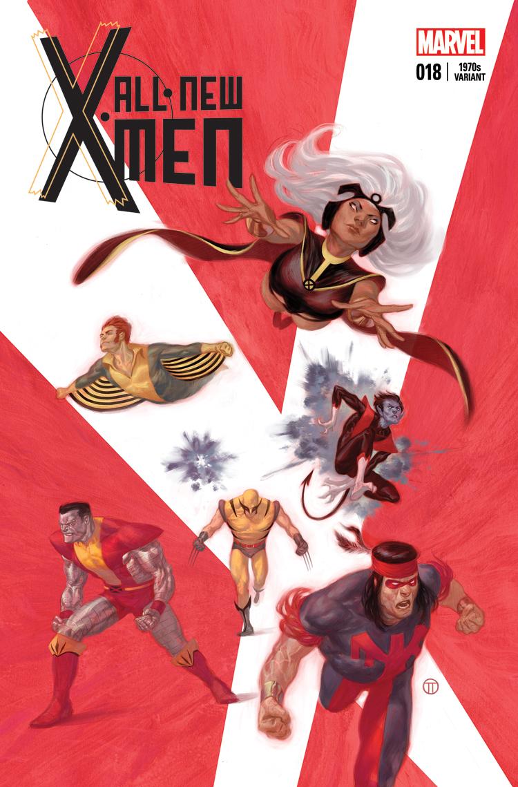 All-New X-Men (2012) #18 (Tedesco 70s Variant)