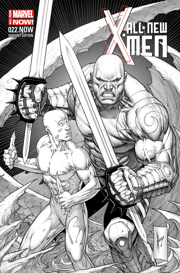 All-New X-Men (2012) #22 (Keown Sketch Variant)