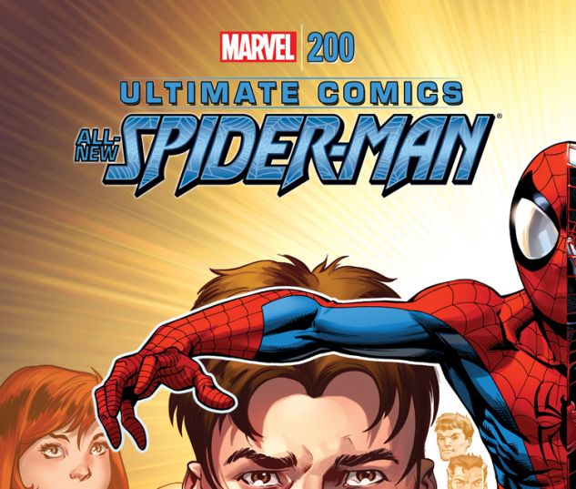 ULTIMATE SPIDER-MAN 200 BAGLEY COVER (ORDER ALL, WITH DIGITAL CODE)