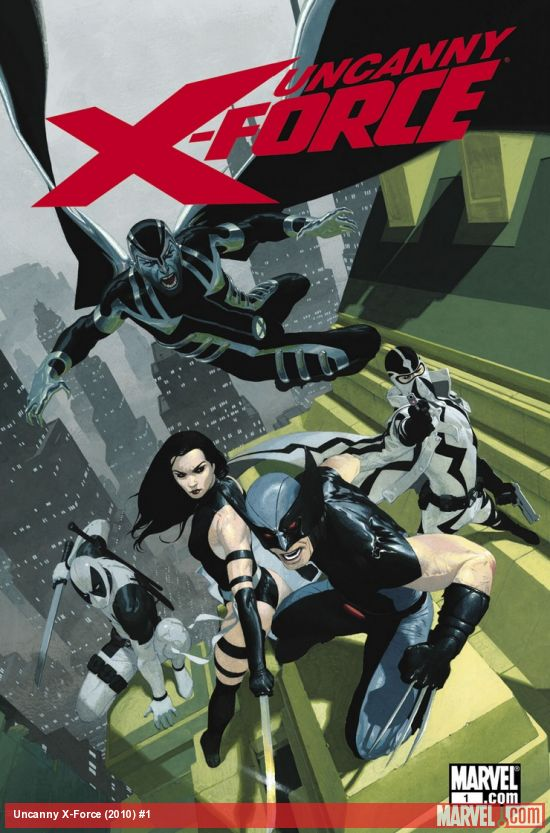 Uncanny X-Force (2010) #1