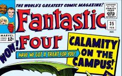 Fantastic Four (1961) #35 Cover