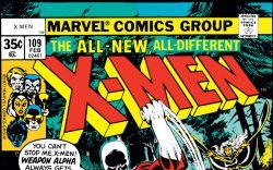 Uncanny X-Men (1963) #109 Cover