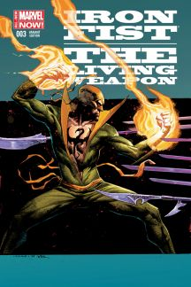 IRON FIST: THE LIVING WEAPON 3 OPENA VARIANT (ANMN, WITH DIGITAL CODE)
