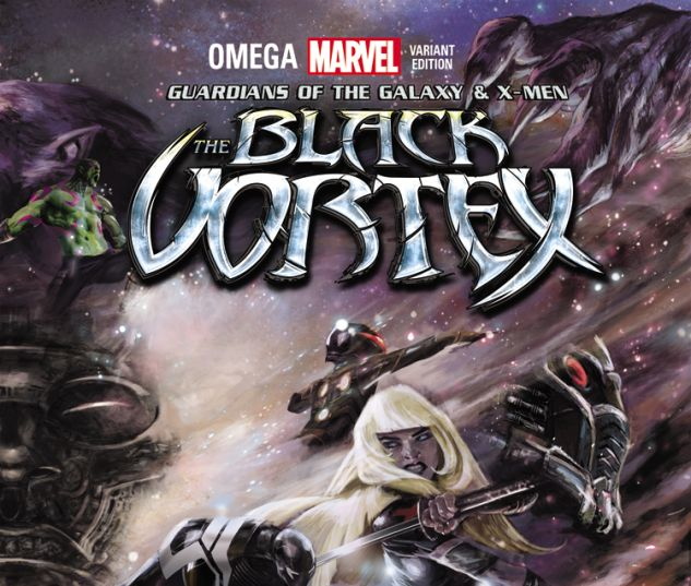 GUARDIANS OF THE GALAXY & X-MEN: THE BLACK VORTEX OMEGA 1 LOZANO CONNECTING VARIANT B (BV, WITH DIGITAL CODE)