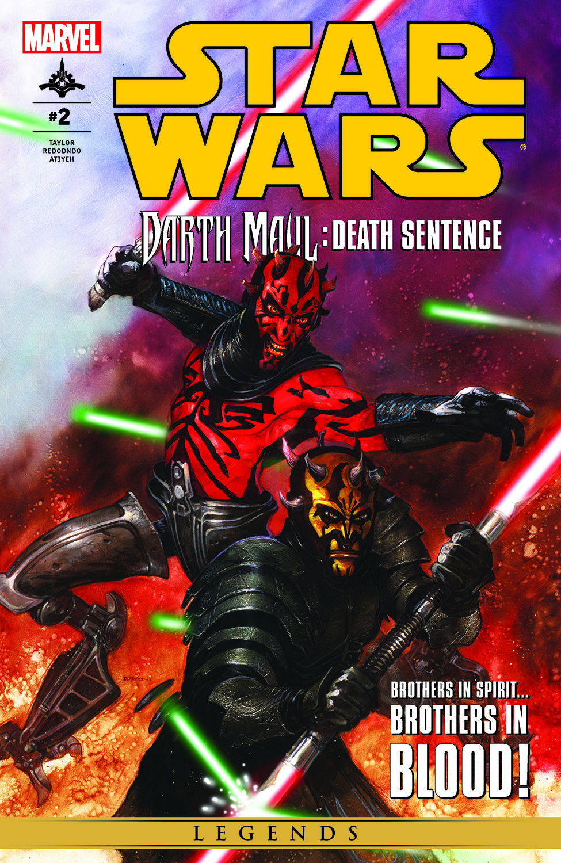 Star Wars: Darth Maul - Death Sentence (2012) #2