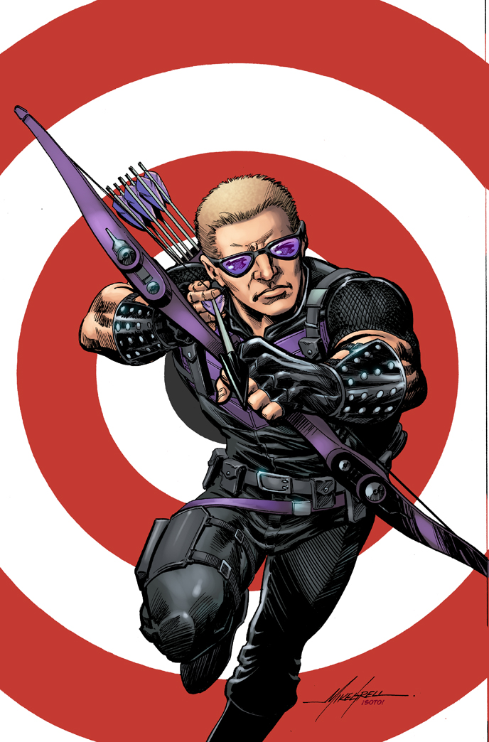 All-New Hawkeye (2015) #1 (Grell Classic Variant)