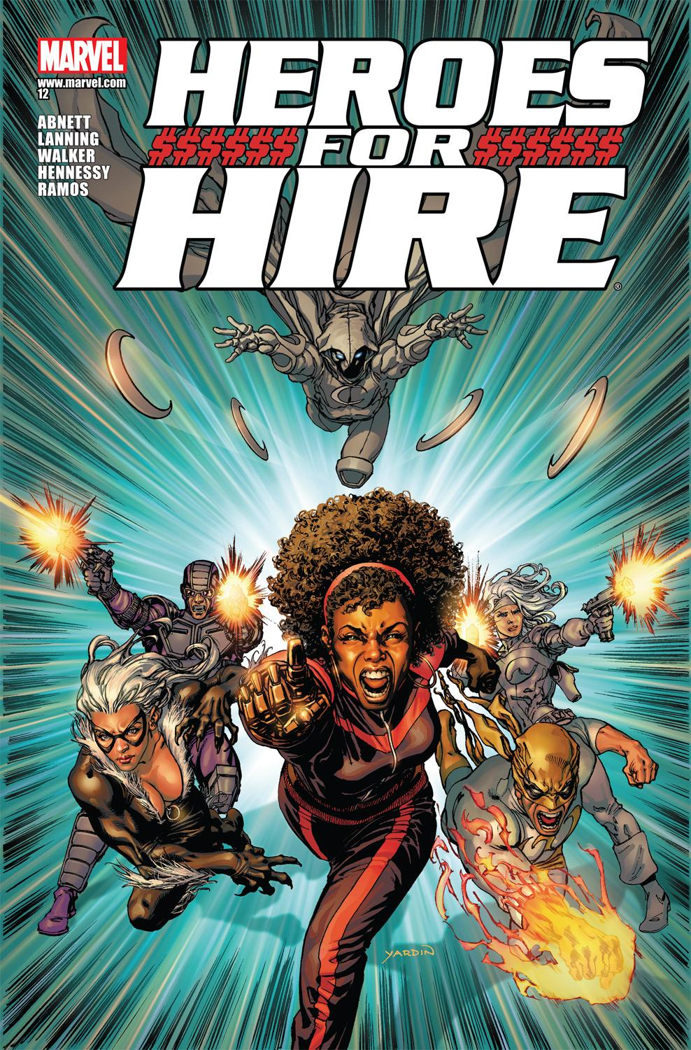 Heroes for Hire (2010) #12