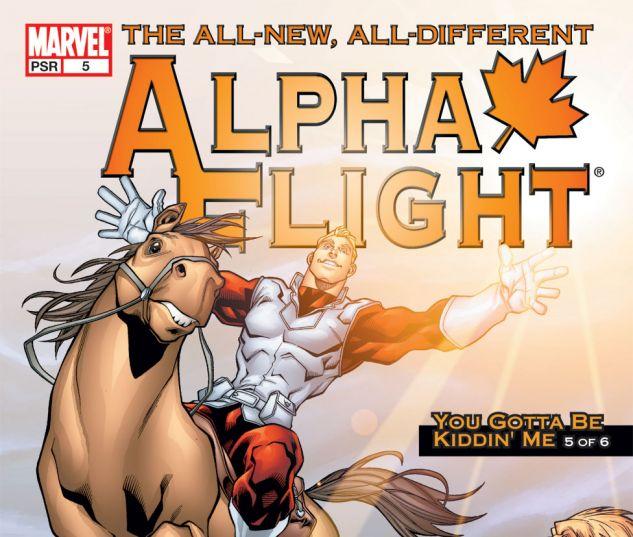 ALPHA FLIGHT (2004) #5 Cover