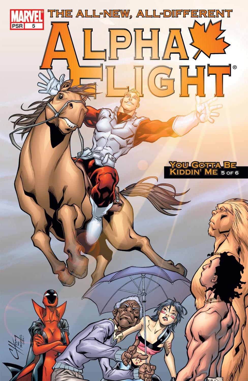 Alpha Flight (2004) #5