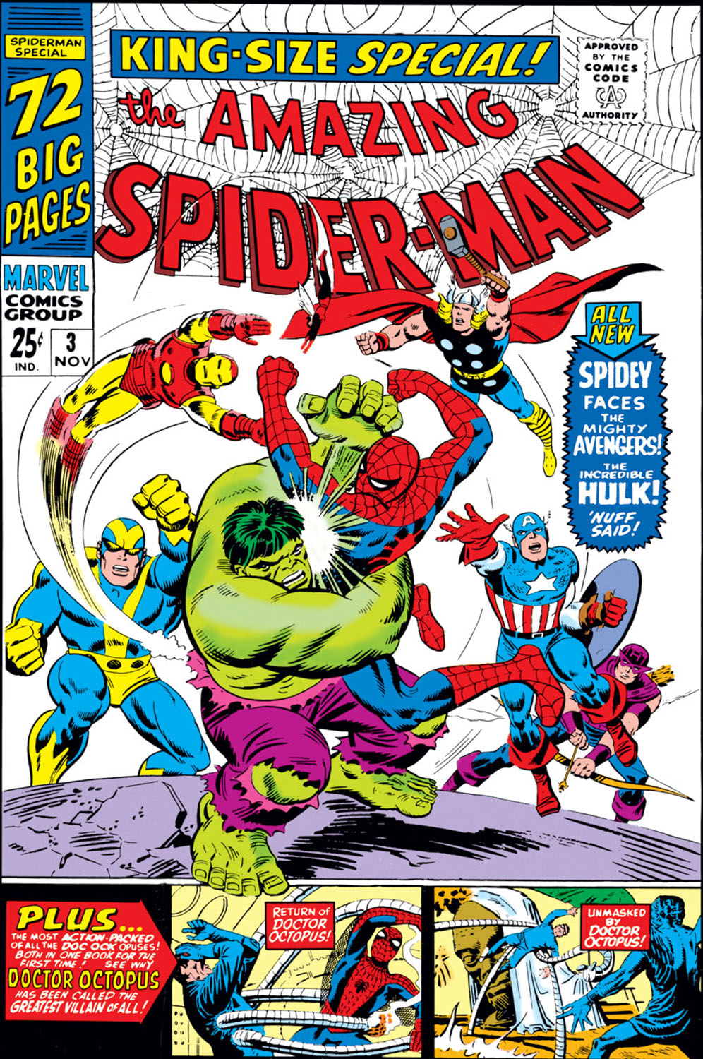 Amazing Spider-Man Annual (1964) #3